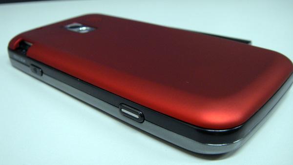 ポケゲーさんのSC-01Bの裏蓋(赤)。