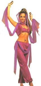 セクシーなアラビアンコスプレ衣装