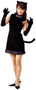 黒猫のコスプレ衣装