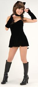 キュート&セクシーな黒猫コスプレ衣装