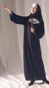 ハロウィン聖女シスターコスプレ衣装