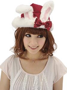 クリスマスグッズうさちゃんサンタ帽子