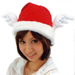 クリスマスグッズエンジェルサンタ帽子