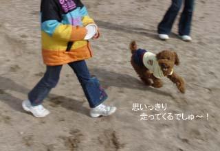 走るでしゅ〜!