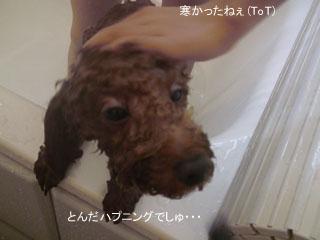 お風呂で・・・