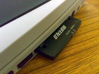PCカードタイプ無線LANカード