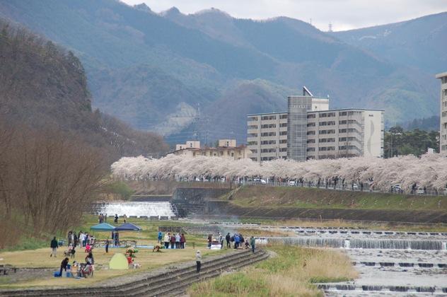 馬見ヶ崎河川公園