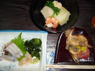 有明海の魚介料理