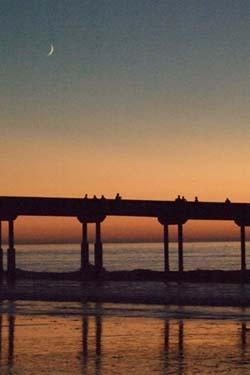 sunsetmoon