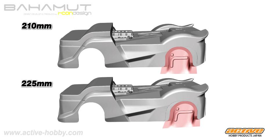 M-BAHAMUT wheelbase