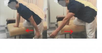 肩のアイロン体操