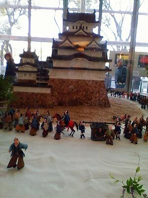 姫路城白鷺の夢