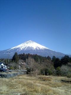 富士山です。日本のこころです。