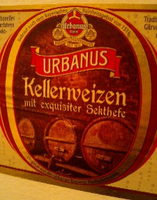 場末の酒場で「すんませーん おばちゃーんウルバヌスケラーヴァイツェン頂戴〜 はいよーあんたーウルバヌスケラーヴァイツェンいっちょー」なんていう世界もあってもいいかもしれませんがなくてもいいです。