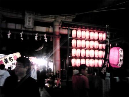 木田神社お祭り