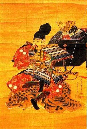 新田義貞公肖像(藤島神社蔵)