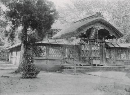 藤島神社(牧ノ島時代・明治14〜34年)
