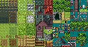 森の中の村