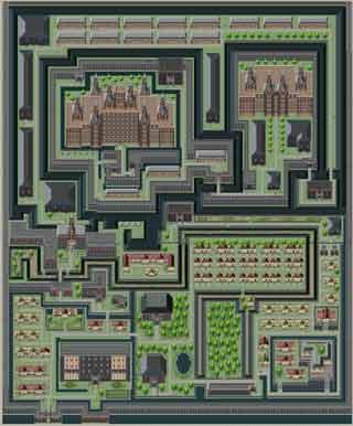 ラーラル城と城下町