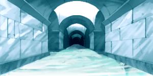 氷のダンジョン 1 RTP改造戦闘背景素材