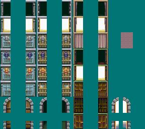両開きの扉 FSM 改造キャラチップ素材