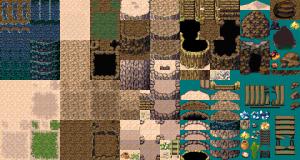 砂丘の洞窟 FSM 改造マップチップ素材