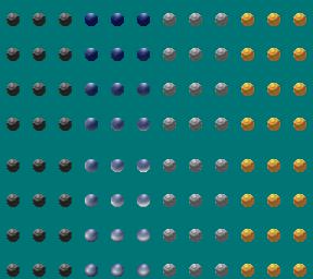 鉄球 SINFONIAの世界オリジナル キャラチップ素材