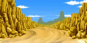 砂漠の金山 RTP改造戦闘背景素材