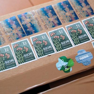 フィンランドの切手