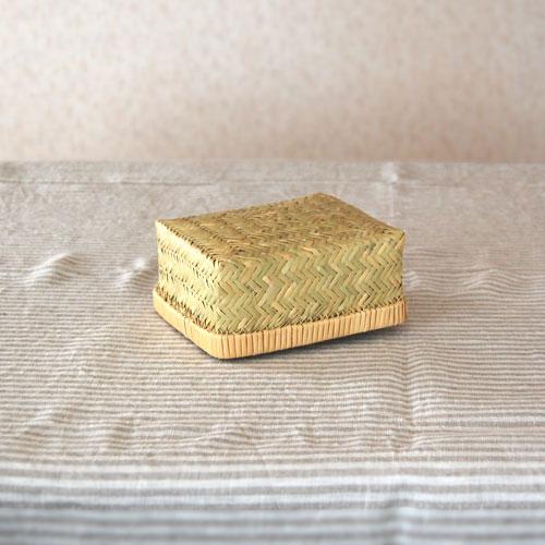 篠竹角弁当箱