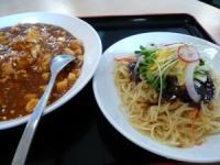麻婆飯&ザージャン麺