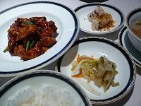 鶏肉と蓮根の甜面醤炒め
