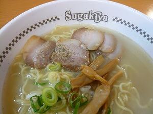 肉入ラーメン(スガキヤ)