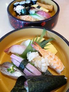 寿司定食(徳兵衛)