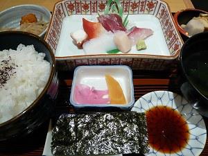 お刺身定食(廣寿司)