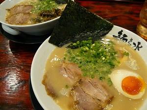 ラーメン 麺水(20090830)