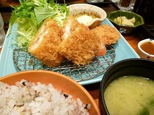 海老カツ定食(2013.2.2)