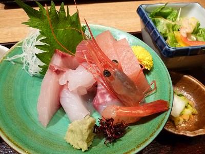 本日のお刺身御膳(2013.4.7)