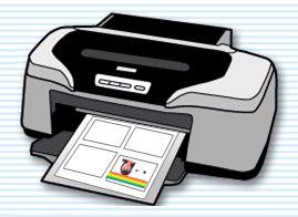 インクジェットプリンター印刷イメージ