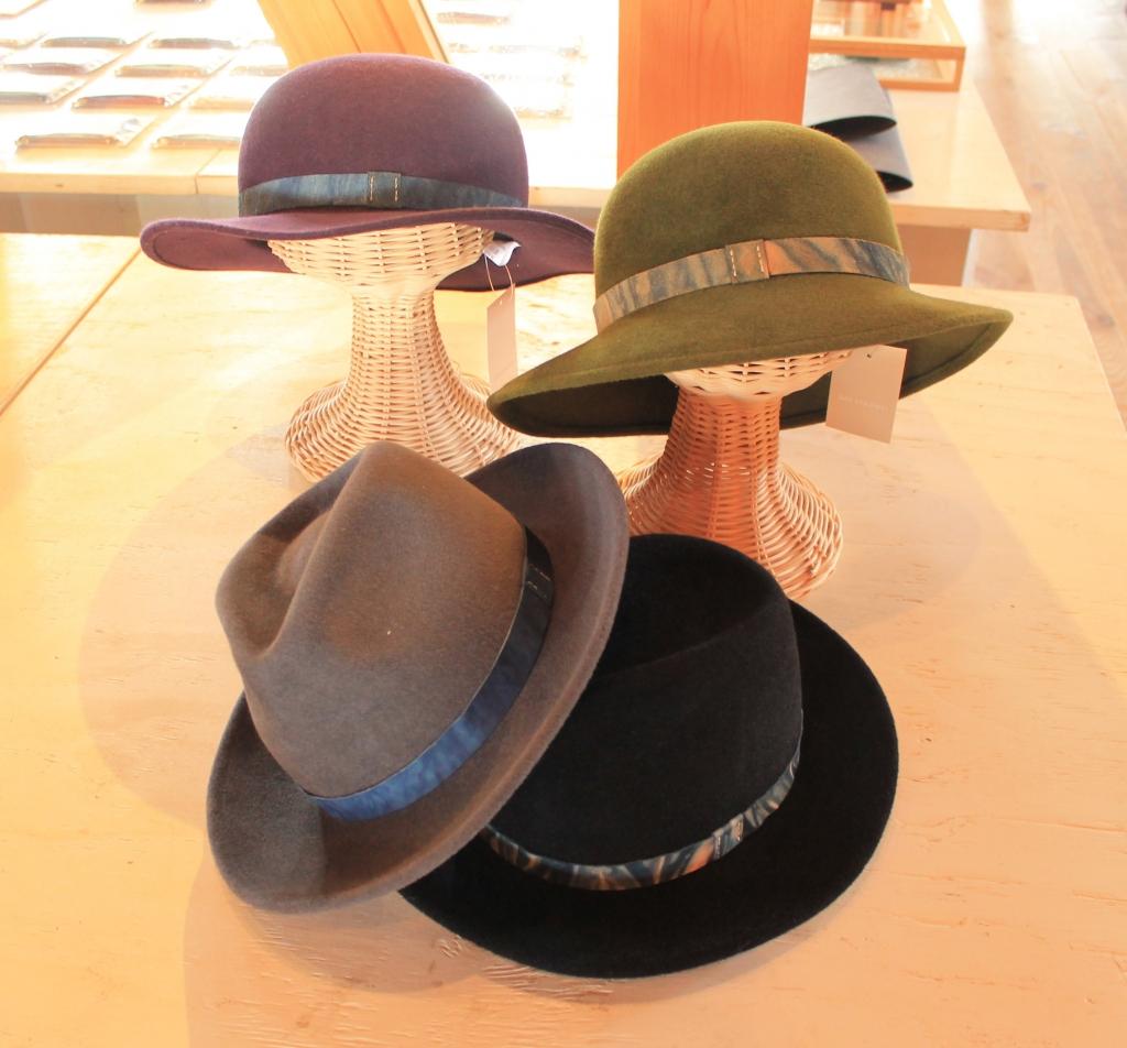石田製帽×SIRUHA展開催中です!