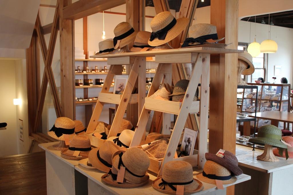 石田製帽×長谷川和希展はじまりました!