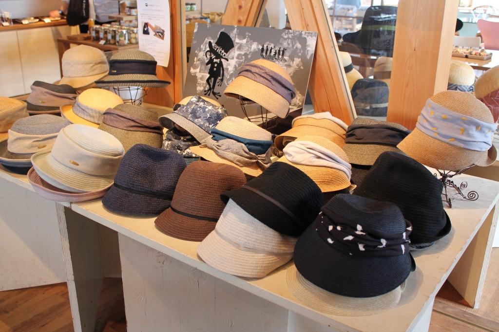 襟立製帽所 初夏の帽子フェア