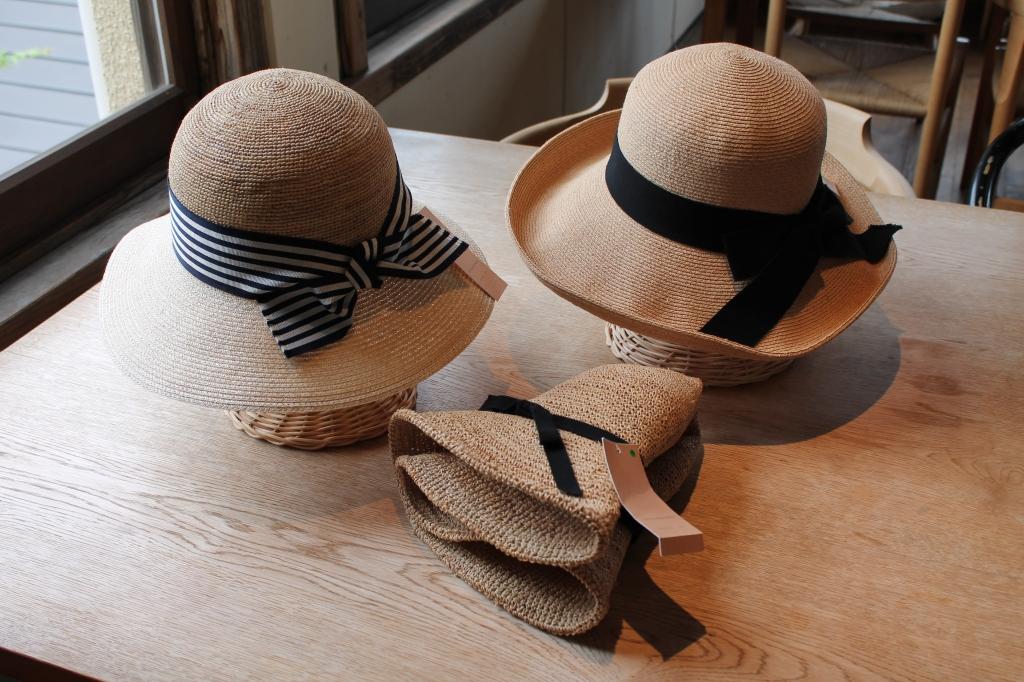 石田製帽の旅する帽子開催中