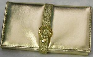 ゴールドのお財布