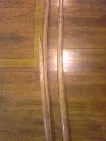 折れた木刀