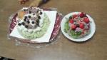 秘密基地ケーキ
