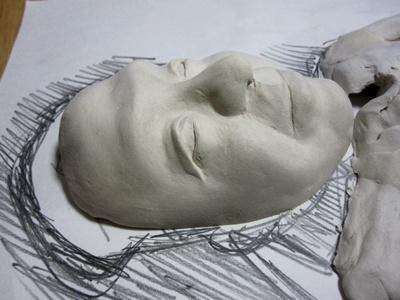 そっくり顔の制作