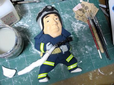 消防士さん