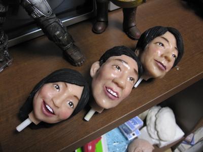 講師そっくり人形