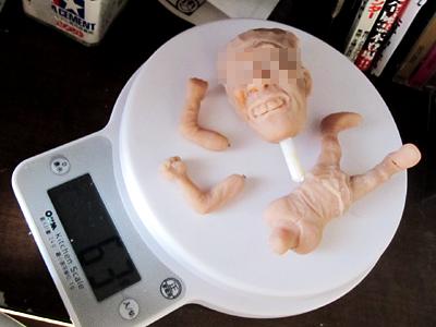 そっくり人形制作中